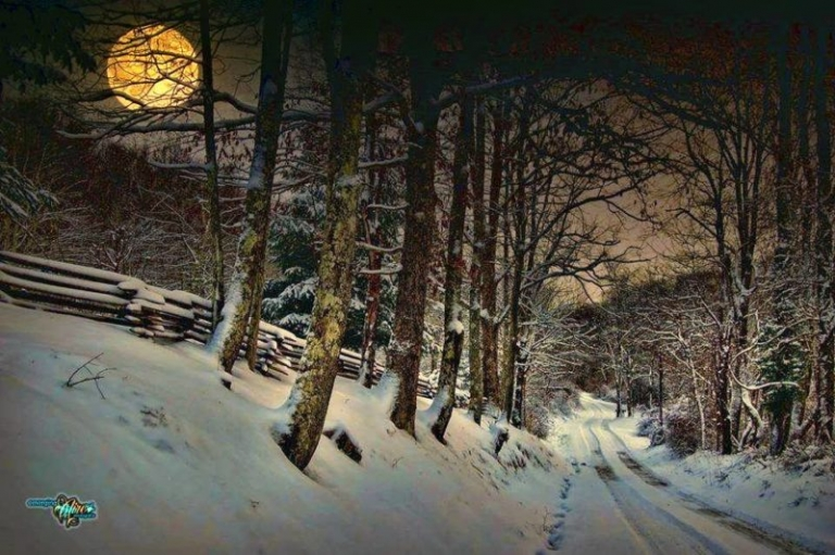 Rural W.Va. ideal to see year's largest supermoon, Snow Moon