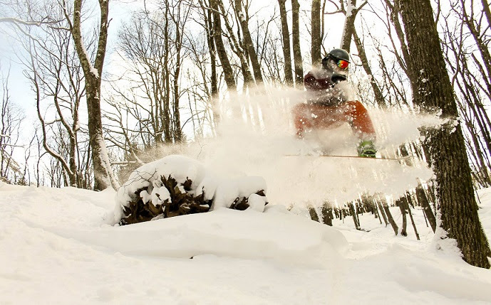 Despite mild temps, Canaan ski area keeps 19 runs, trails open