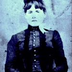 Zona Heaster Shue as she appeared before her posthumous appearance as the Greenbrier Ghost.