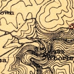 A 1911 USGS map shows an apparent farmstead at Grey Flats, near Beckley, WV.