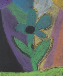 Canada Violet by Xia Zickafoose; 2nd Grade; Ansted Elementary. Courtesy National Park Service.