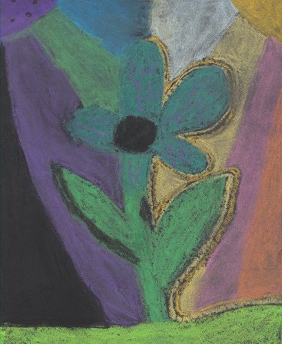 Rhododendron by Avani Gallentine; 3rd Grade; Private Entry; BEST in grades 3-5. Courtesy National Park Service.