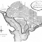 "Ellicott's ""Plan of the City of Washington"" revised from Pierre Charles L'Enfant; 1792 - Library of Congress"