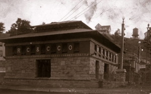 The Raleigh Coal and Coke Substation remains an architectural landmark near Beckley, West Virginia.