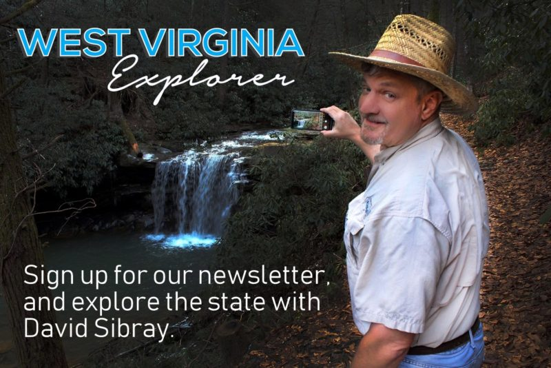 Sign up for the West Virginia Explorer Newsletter