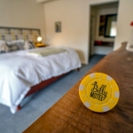 Guests who lodge at The Billy Motel receive a Billy Bar token. Photo courtesy Brian Sarfino.