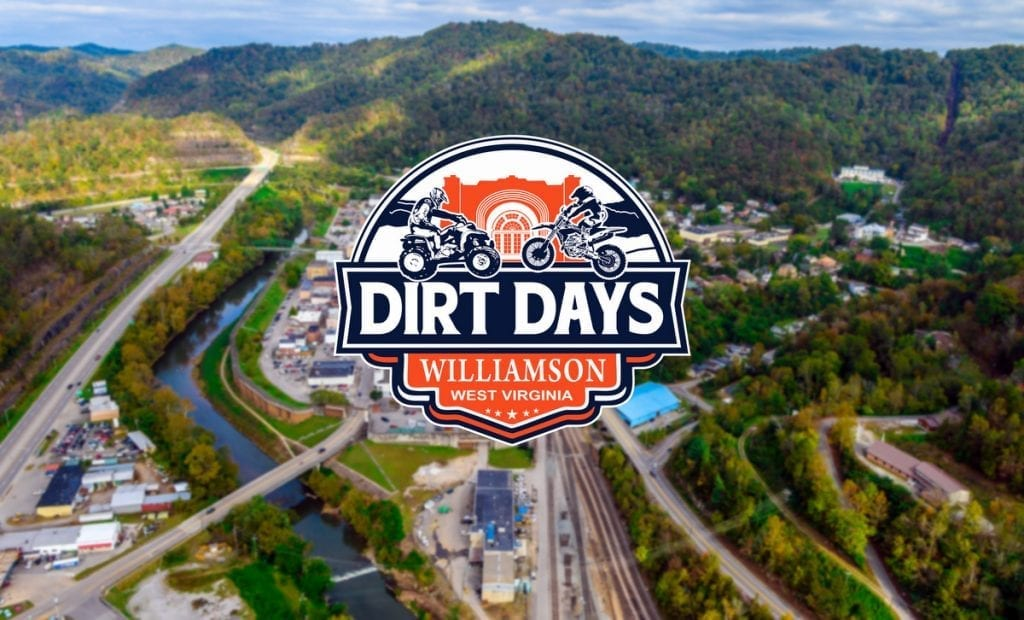 The Dirt Days Festival showcases Williamson as a chief destination for off-road travel in West Virginia.