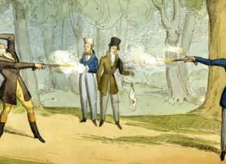 Dueling was not popular in West Virginia, though the Moore-Burnham Duel was notably undertaken at Clarksburg in 1810.