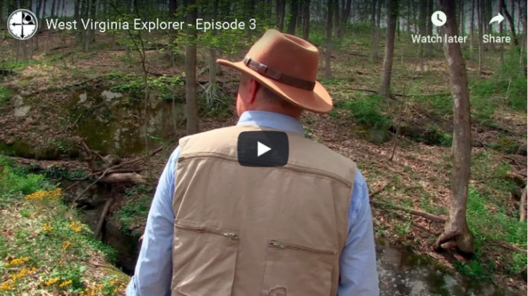 Video: Natural bridge hidden in southern Roane County, W.Va.