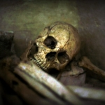 Skeleton in the Ohio River