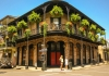 Tourists explore New Orleans, Louisiana, a famous U.S. melting-pot city.