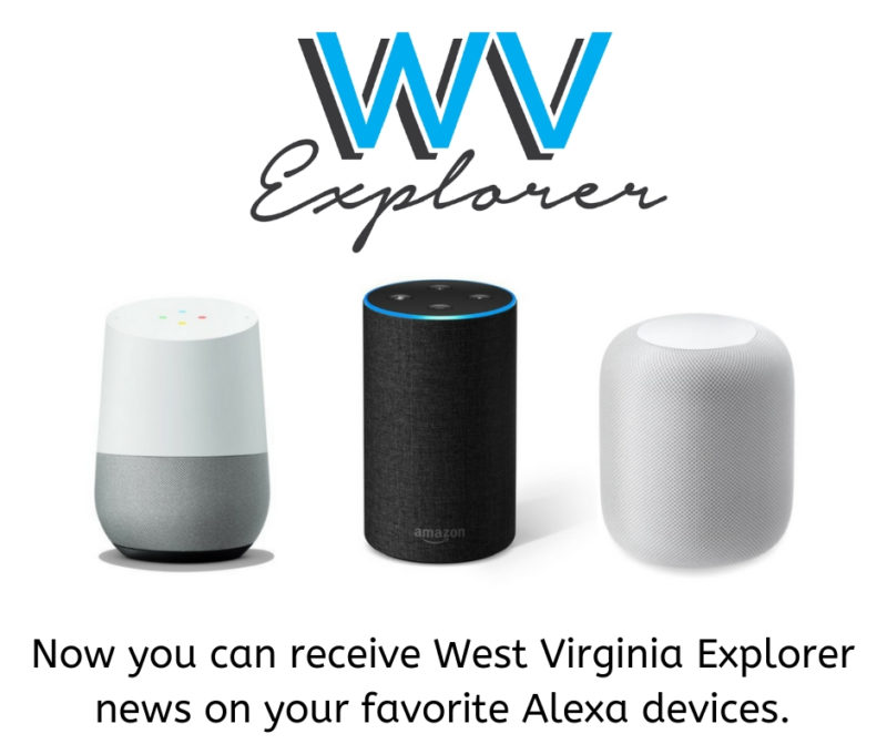 West Virginia Explorer now offers West Virginia briefings for Alexa.