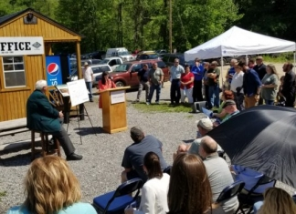 Chelsea Ruby unveils new state park