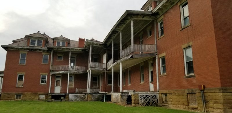 Among the most remarkable landmarks in West Virginia, the Tyler County Poor farm continues to fall into disrepair.