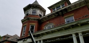 Neglect of gutters and downspouts have caused the greatest damage to the landmark.