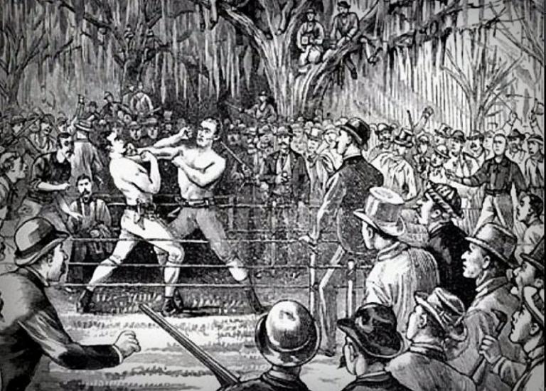 Yankee Sullivan fought 1847 match near Harpers Ferry