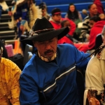 Buddy Aiken, organizer of We Are Still Here pow-wow at Parsons, West Virginia.
