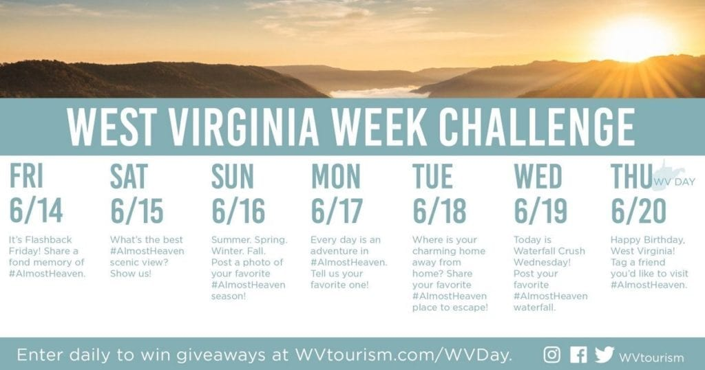 West Virginia Week Challenge 2019