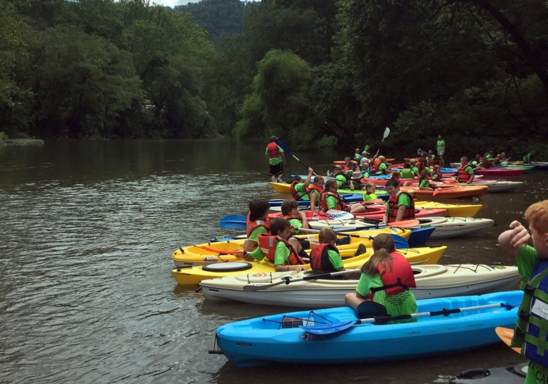 Kayaks opening Guyandotte valley to new exploration