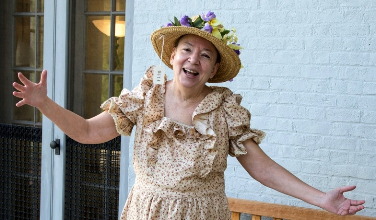 Denise Giardina to portray Minnie Pearl at Bramwell Sept. 13