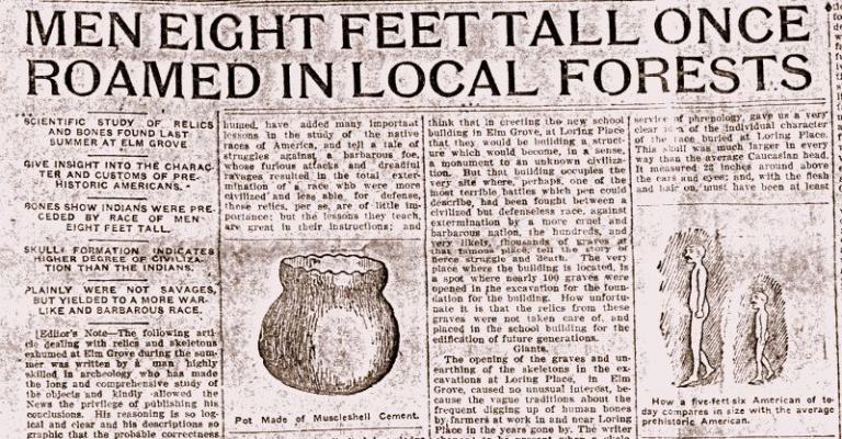 Scholars debunk myth of prehistoric giants in West Virginia