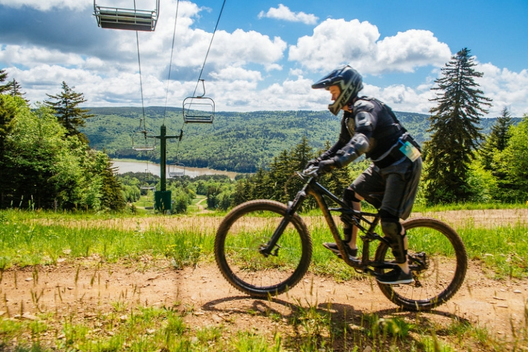 Snowshoe Highlands Ride Center unveiled today by IMBA