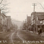 Saint Marys, West Virginia, as it appeared in 1914