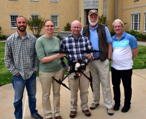 The drone team at Shepherd University will venture into the Monongahela National Forest to help restore surface-mined tracts.