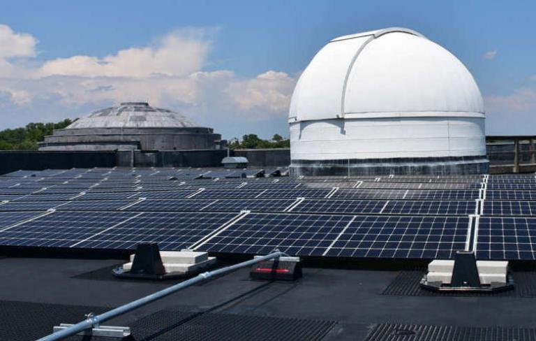 Shepherd installs state's largest non-profit solar array