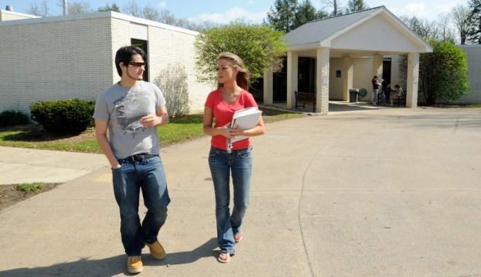 Students at New River Community and Technical College