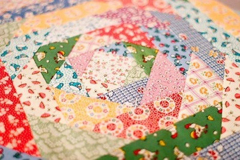 Quilting was an important West Virginia tradition. (Image courtesy Arthurdale Heritage)