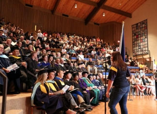 Alderson Broaddus's Opening Convocation event commences a new academic year by welcoming the Class of 2023.