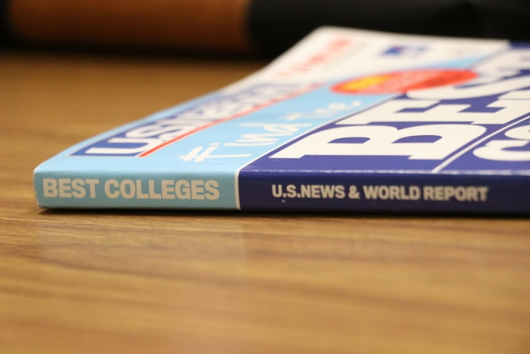 Alderson Broaddus ranked top by U.S. News & World Report