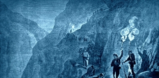 """The Ascent of Gauley Mountain, in Western Virginia by the Twelfth Ohio Regiment,"" from Harpers Illustrated, October 5, 1861."