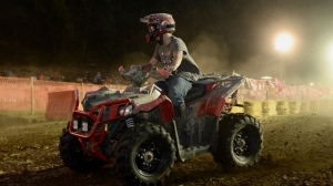 ATV operators compete in a variety of events during National Trailfest at Gilbert, West Virginia.
