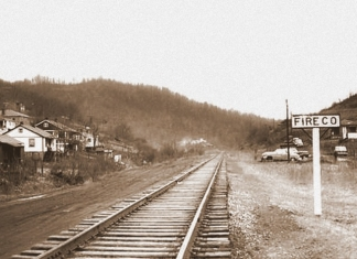 Fireco, West Virginia, in Raleigh County, as it appeared in the 1960s.