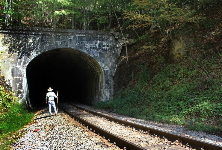 Historic Jenny Gap tunnel once stolen by a railroad