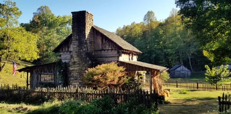 Farm at Twin Falls recalls authentic Appalachian landscape