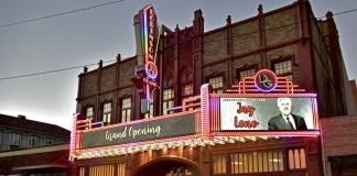 The Robinson Grand Performing Arts Center in Clarksburg, West Virginia.