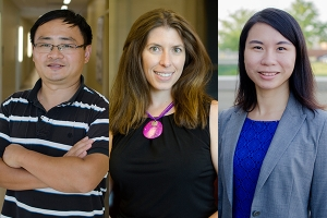 Cangliang Shen, Lisa Jones and Xaioli Etienne are working with small farming operations to improve food safety.