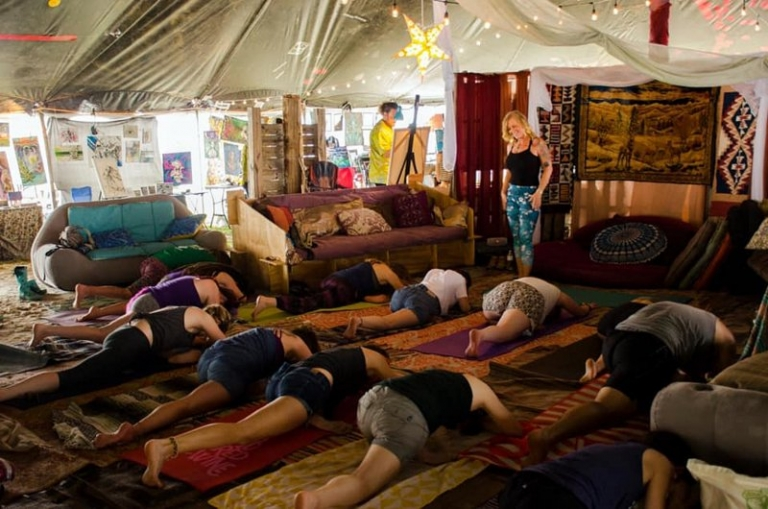 Five reasons West Virginia town has become yoga destination