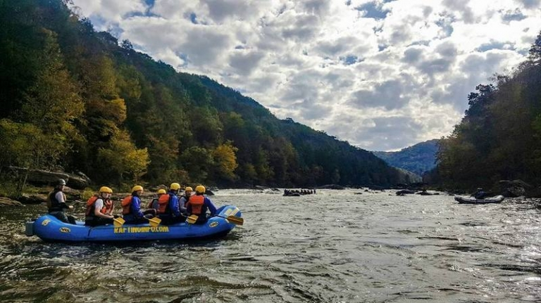 Cool autumn weather could super-charge Gauley River rafting