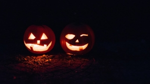Jack O'Lanterns were used to ward off evil spirits.