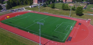 West Liberty University has dedicated a new field and athletic complex.