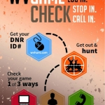 Hunters in West Virginia can now register their kills through the West Virginia Game Check system.