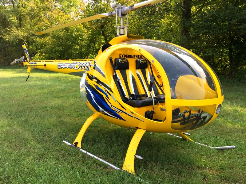 Carbon-fiber composite helicopters allow for easier and less-expensive repairs.