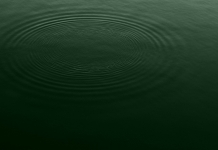 Ripples appear on the surface of the Monongahela River in Marion County, West Virginia.