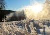 Snow-making commenced on schedule Nov. 1 at Snowshoe Mountain.