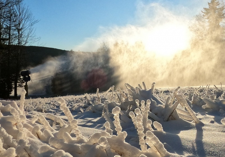 Now making snow, Snowshoe posts 2019-2020 events