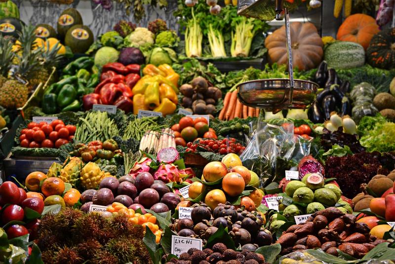 Specialty crops reach the market in West Virginia.